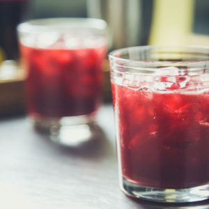 cherries jubilee cocktail recipe