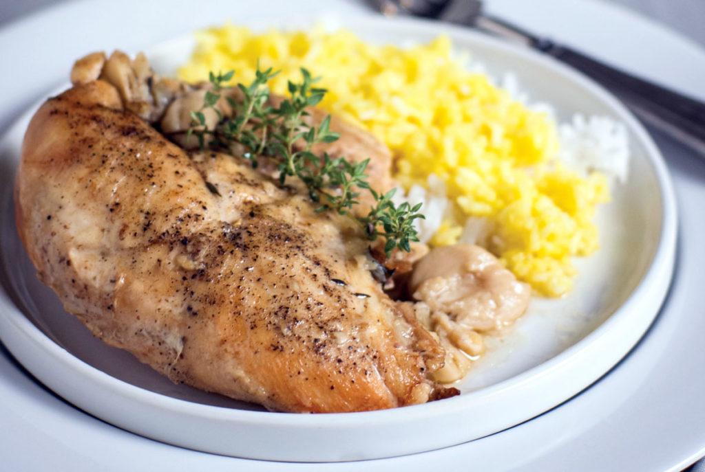 40 clove garlic chicken recipe