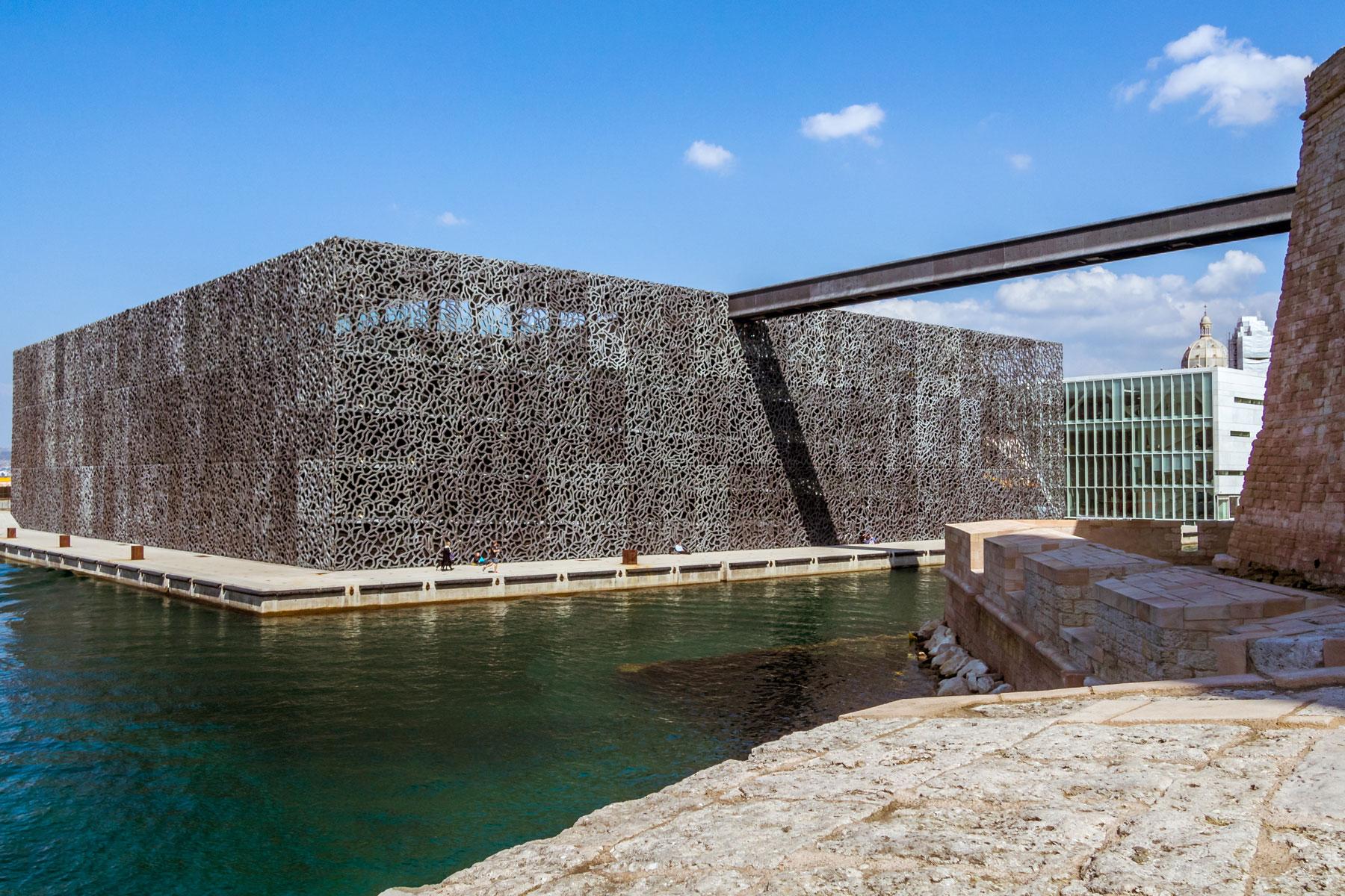 MuCEM museum in Marseille, France