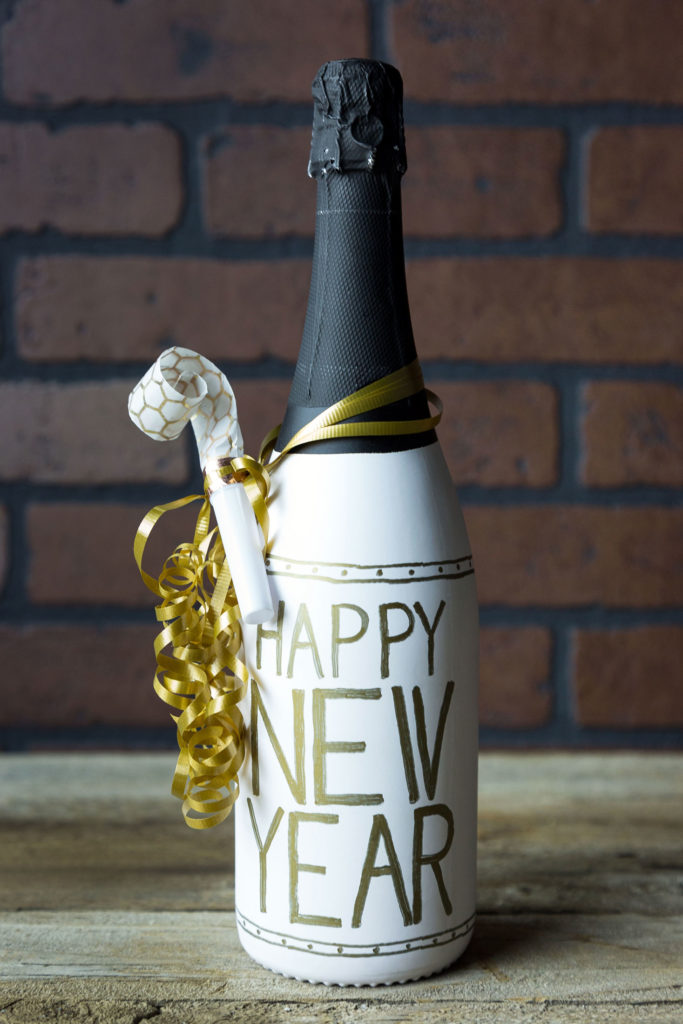 New Years Eve DIY Hostess Gift