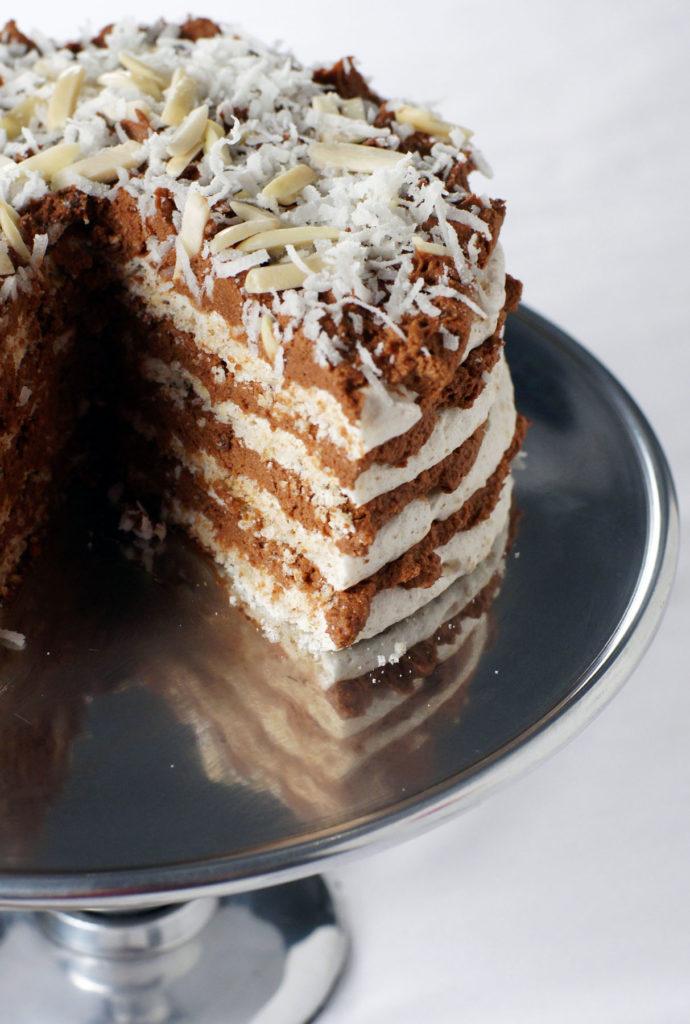almond joy dacquoise recipe