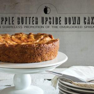 apple butter upside down cake recipe