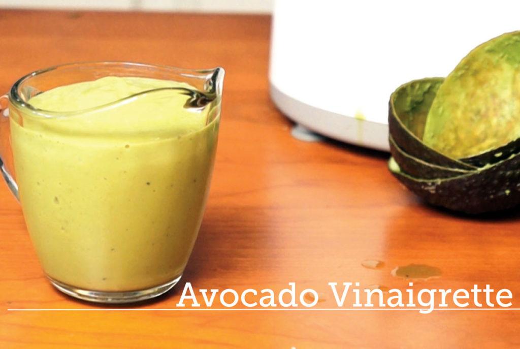 avocado vinaigrette recipe
