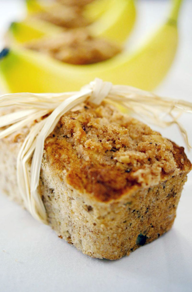 banana hazelnut bread recipe