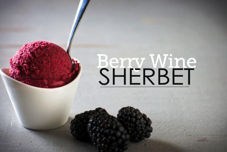 berry wine sherbet recipe