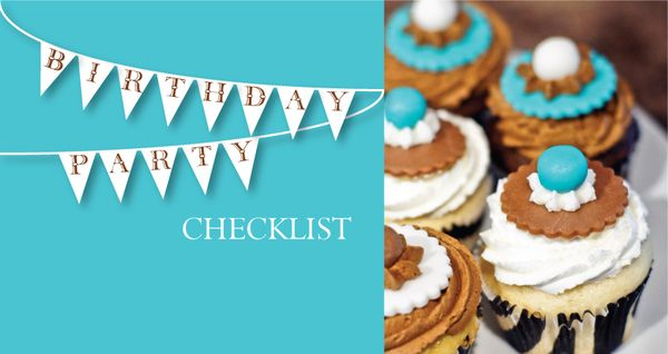 Party Lines:  Birthday Party Checklist