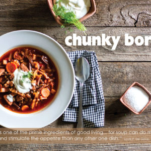 chunky borscht recipe