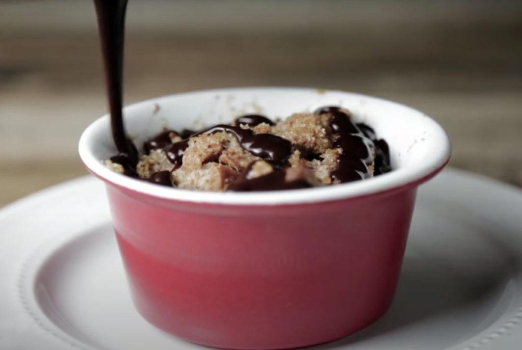 bread pudding with dark chocolate salted caramel chocolate recipe