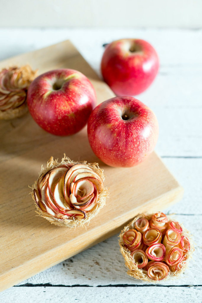 cardamom apple katifi nests