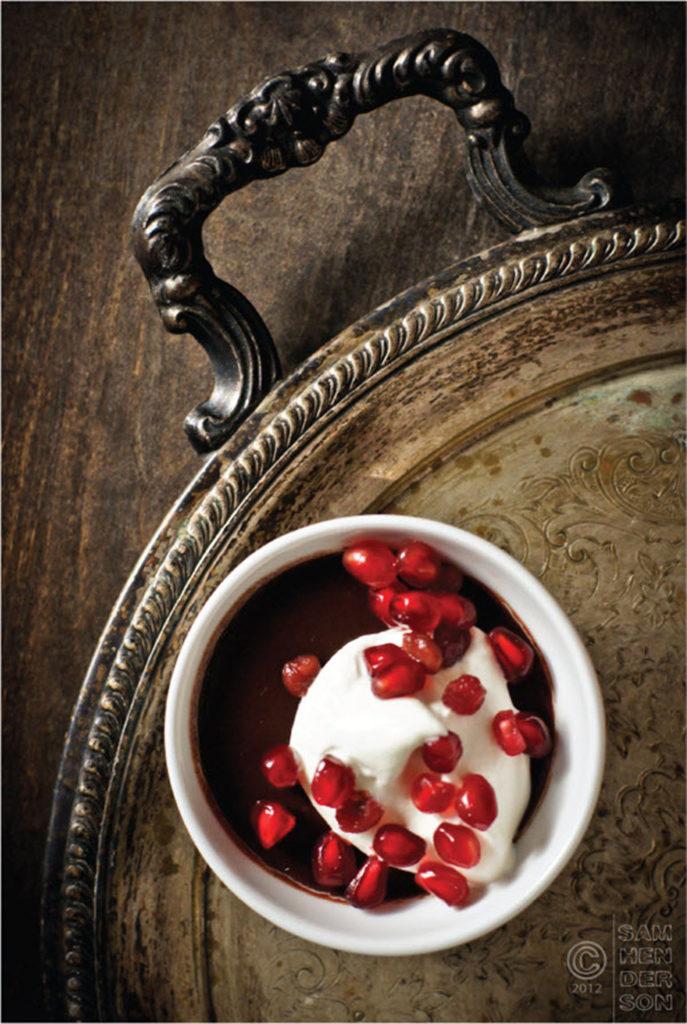 cardamom chocolate pots de creme recipe