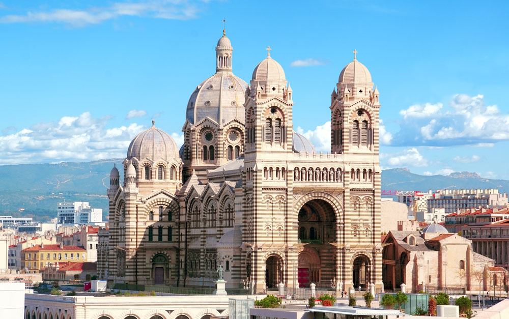 cathédrale de la major in Marseille, France