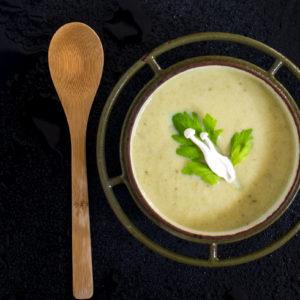 creamy celery leek soup recipe
