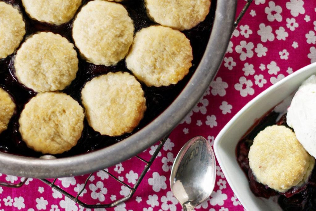 simple cherry cobbler recipe