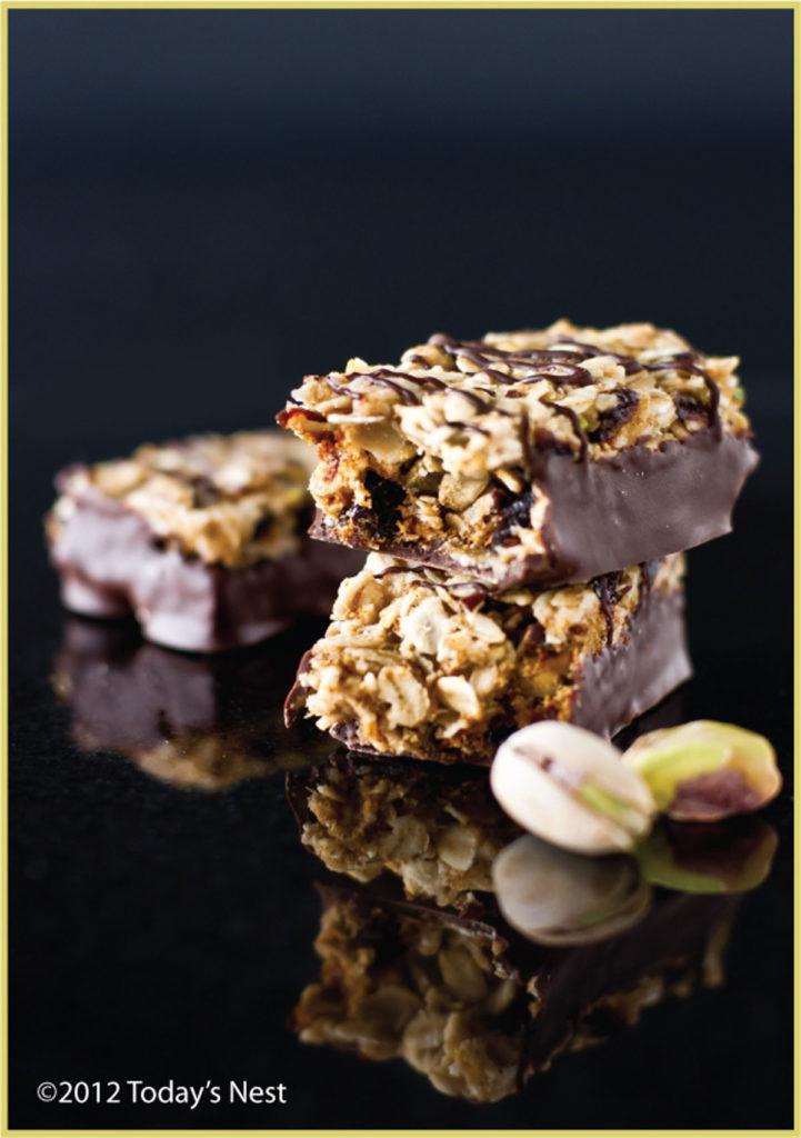 chewy chocolate cherry oat bar recipe