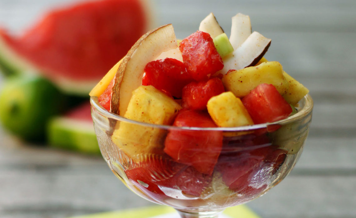 ¡Ay, Caray! :  Chili Lime Fruit Cup