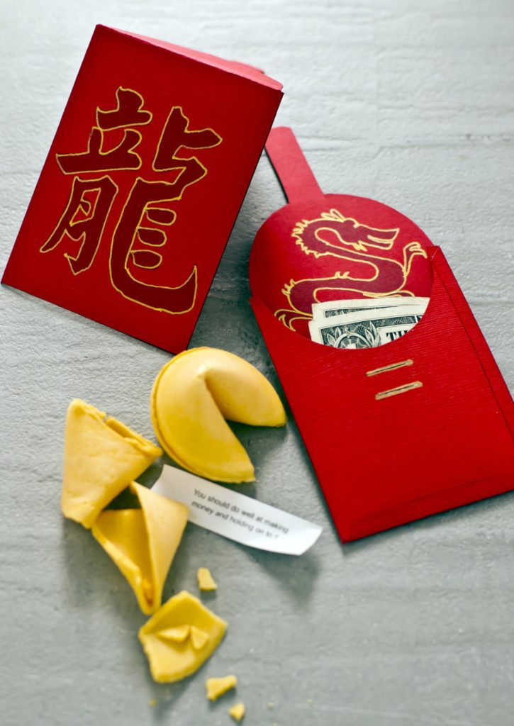 chinese new year red envelope printable