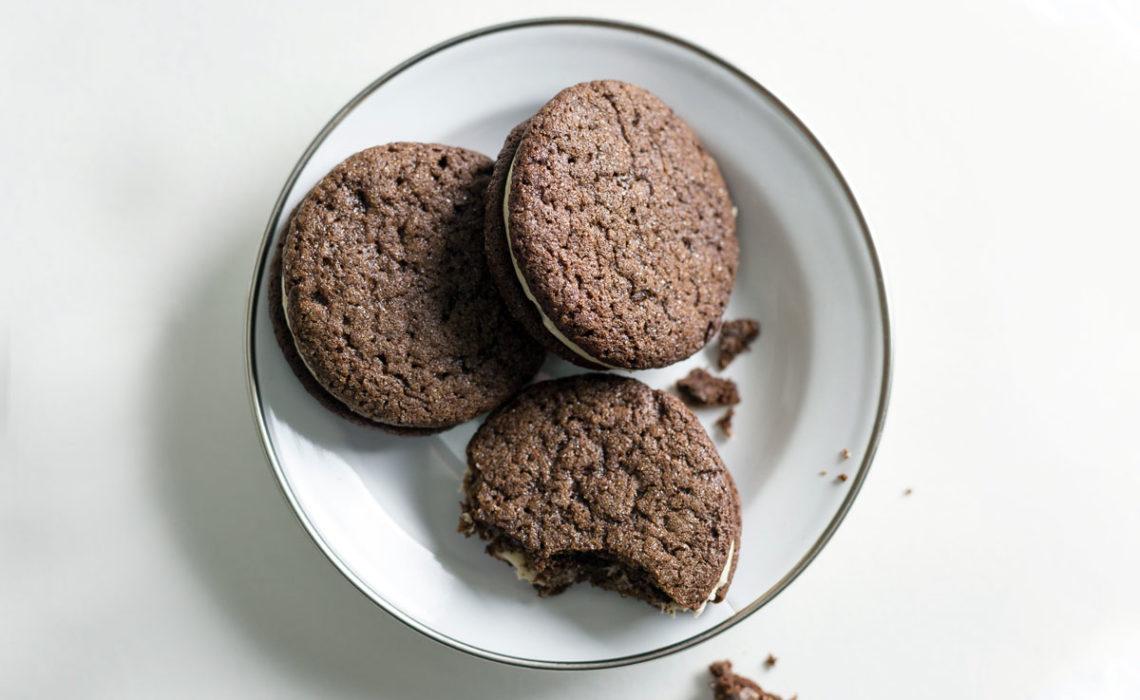 Cookie Week 2015: Peanut Butter Chocolate Sandwich Cookies