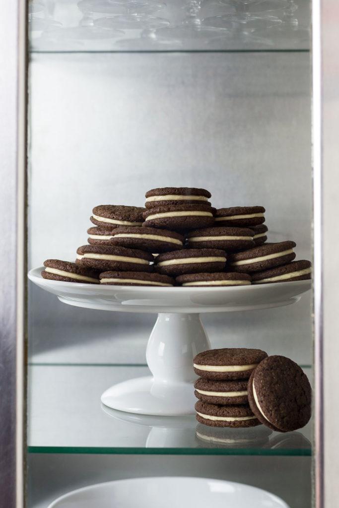 chocolate peanut butter sandwich cookie recipe