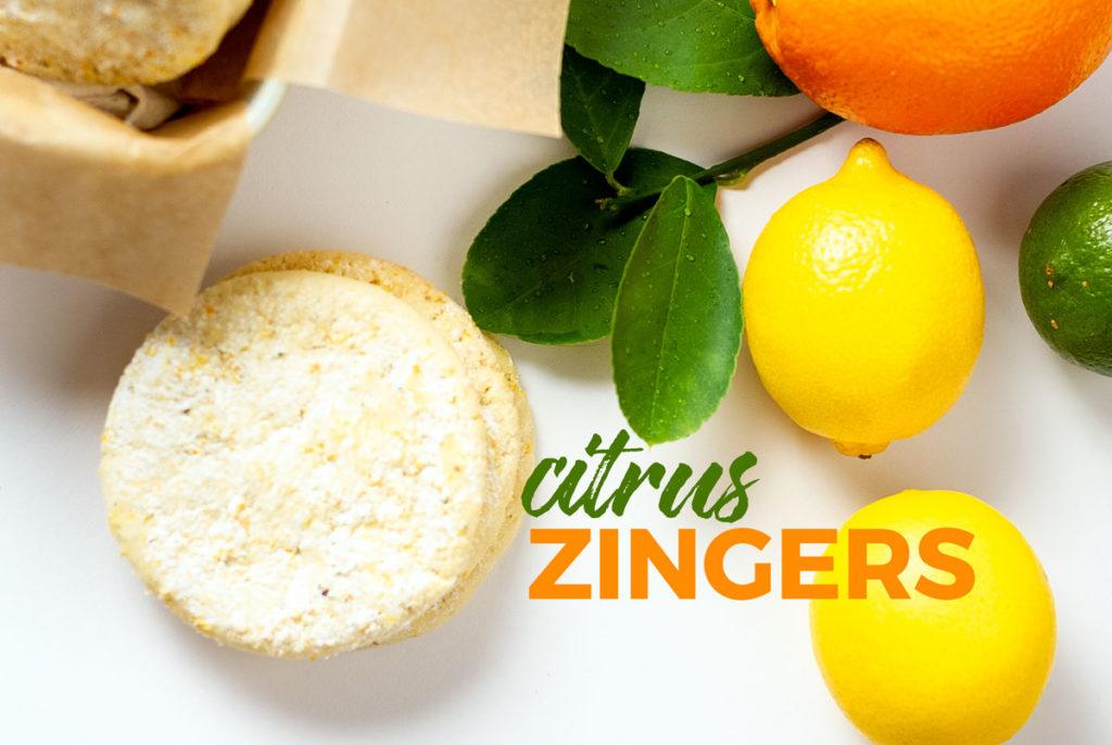 citrus zinger cookie recipe