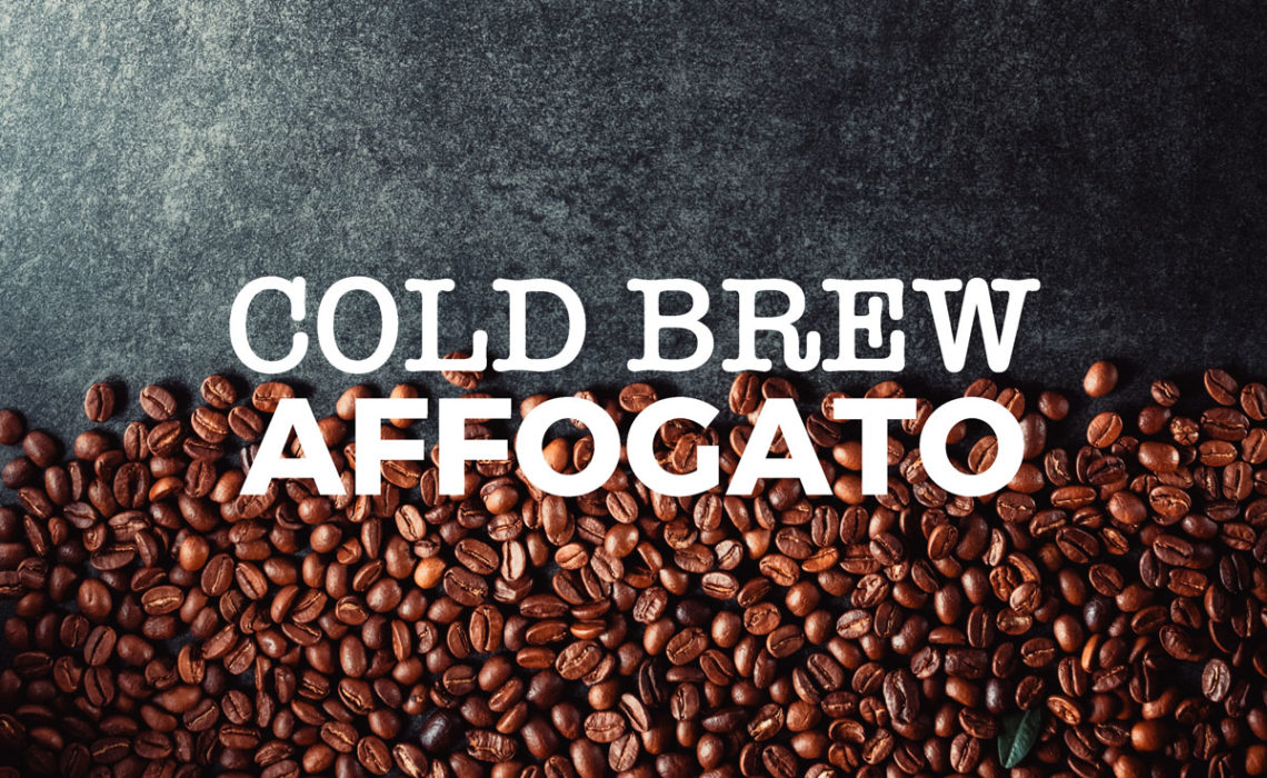 Treat of the Week:  Cold Brew Affogato