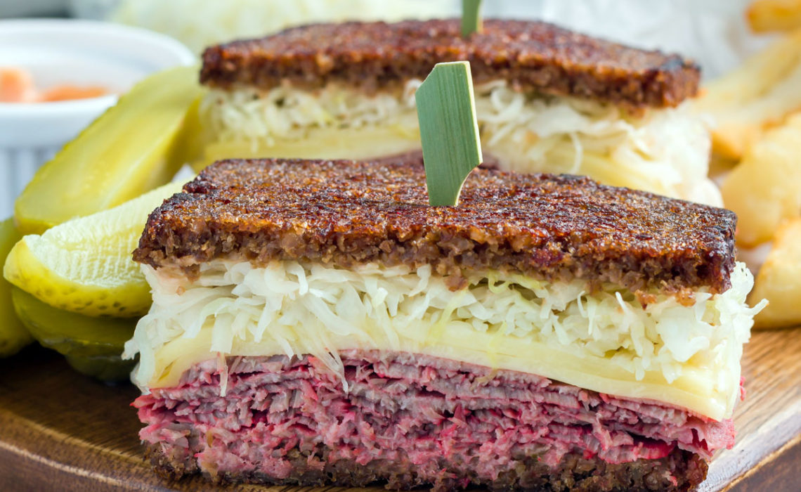 Green Meal:  Corned Beef Sandwich
