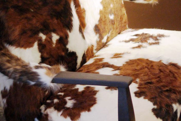 Moo-ved From the Junkpile:  Settee Saved