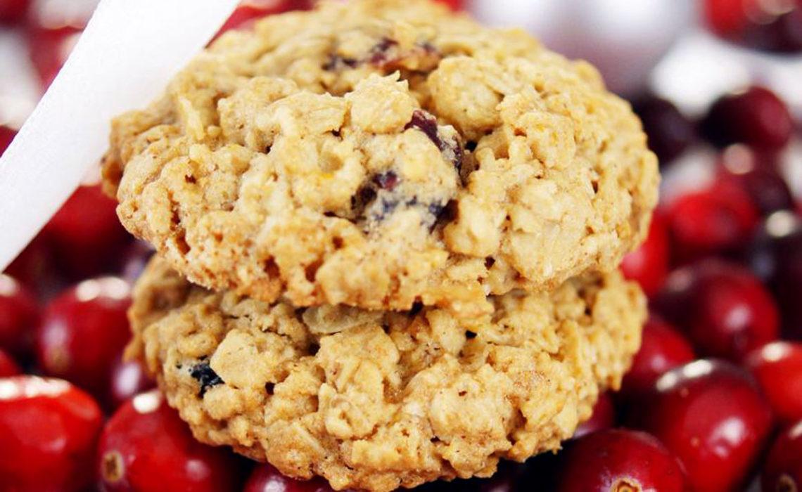 Cookie Week 2:  Cranberry Orange Oatmeal Cookie