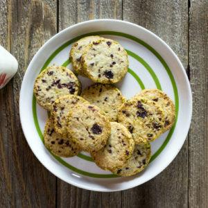 cranberry pistachio sable recipe
