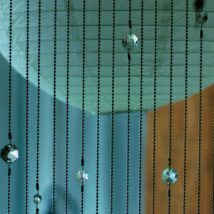 crystal curtain diy