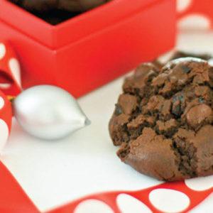 double chocolate cherry cookie recipe
