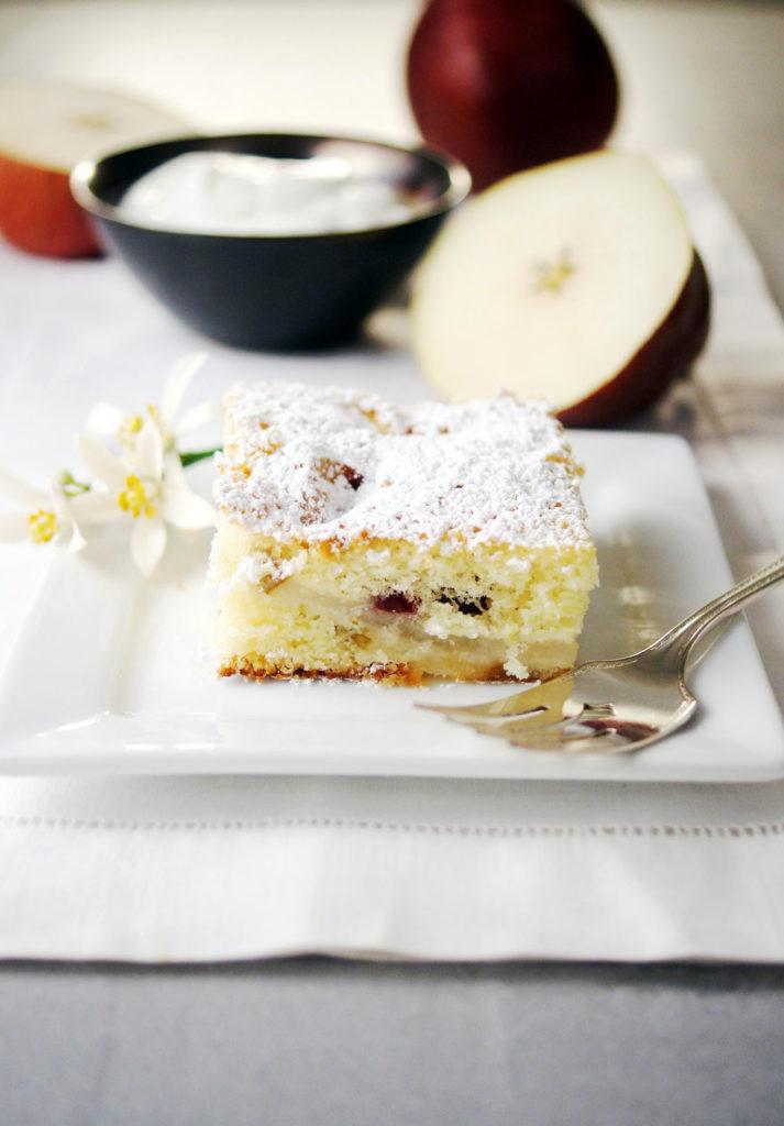 dutch pear berry cake recipe