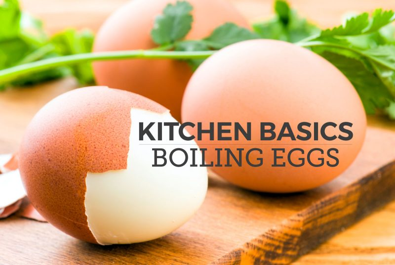 boiled egg basics