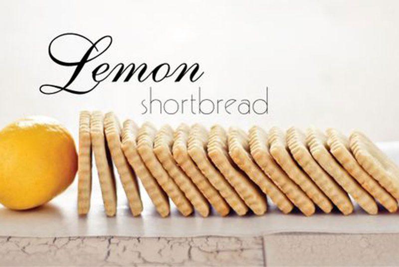 best lemon shortbread recipe