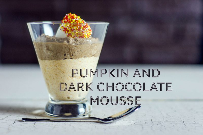 pumpkin and dark chocolate mousse recipe