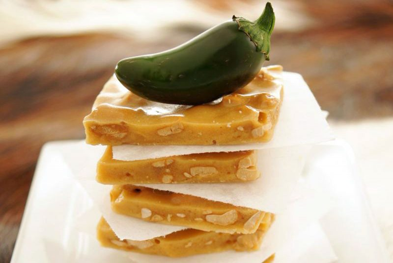 spicy cashew brittle recipe
