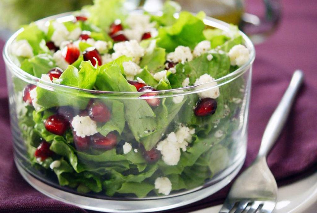 pomegranate feta salad recipe