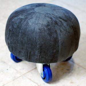 footstool makeover diy