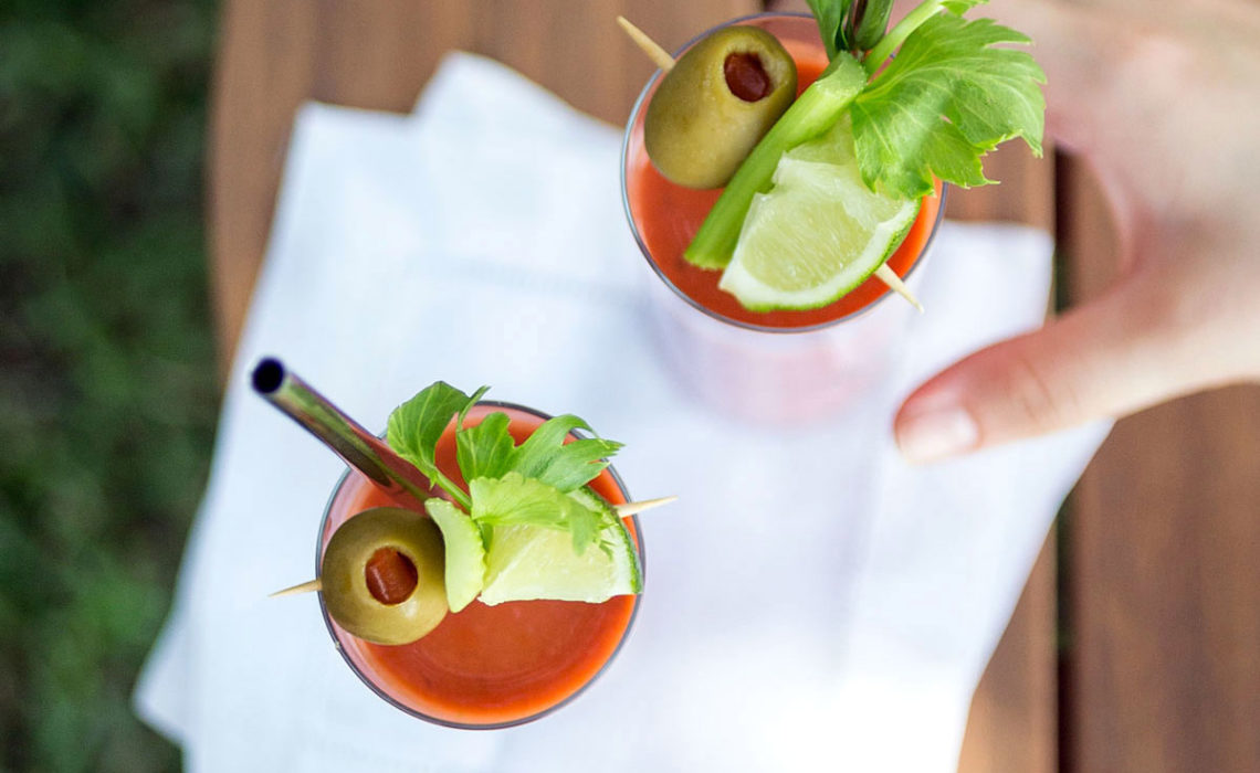 Next Morning Cocktail: Gazpacho Bloody Mary