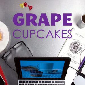 grape cupcake recipe