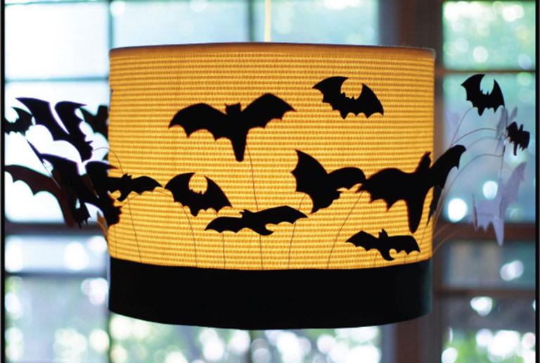 batty drum shade