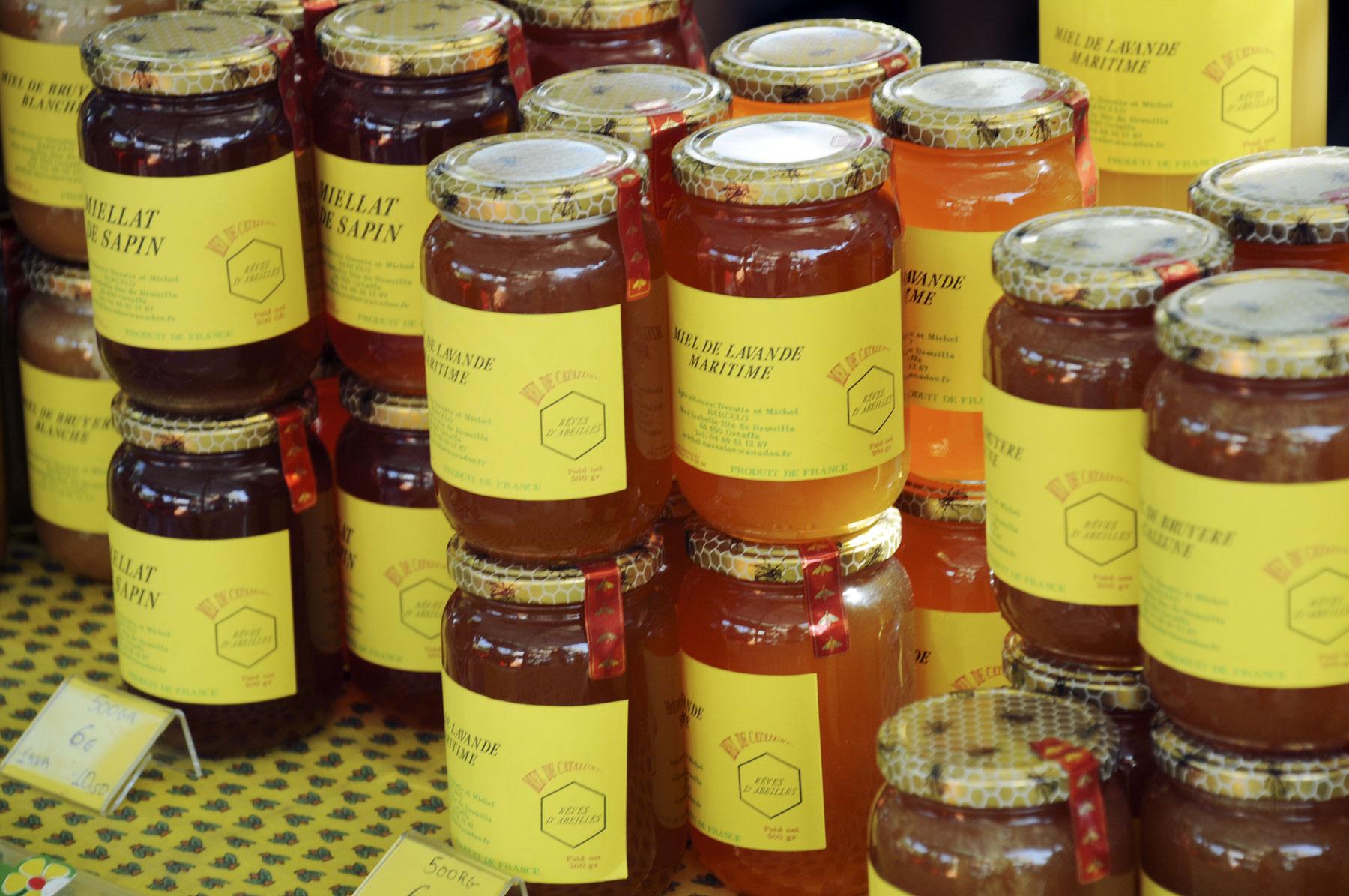 honey in market