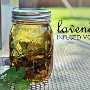 lavender infused vodka recipe