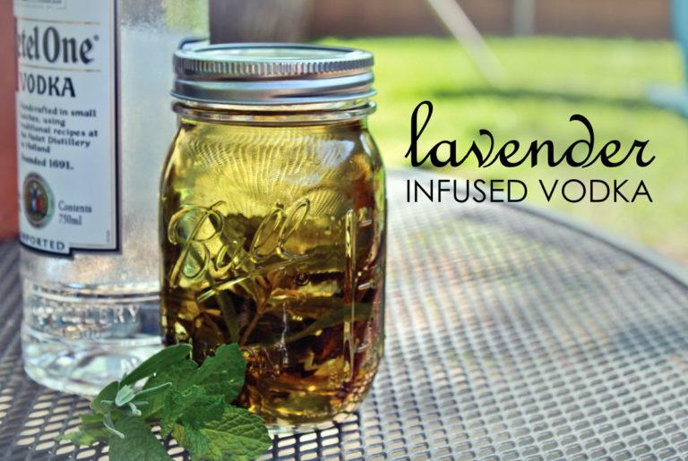 lavender infused vodka recipe