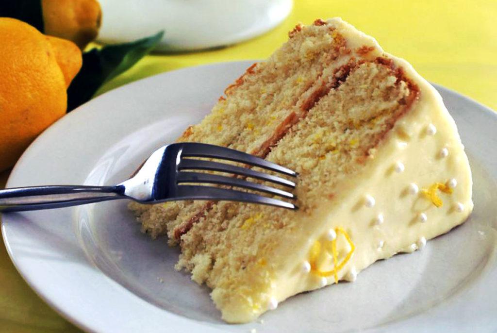 lemon thyme layer cake recipe