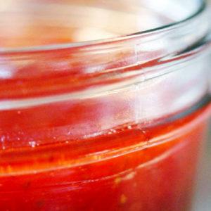 making preserves jam jelly