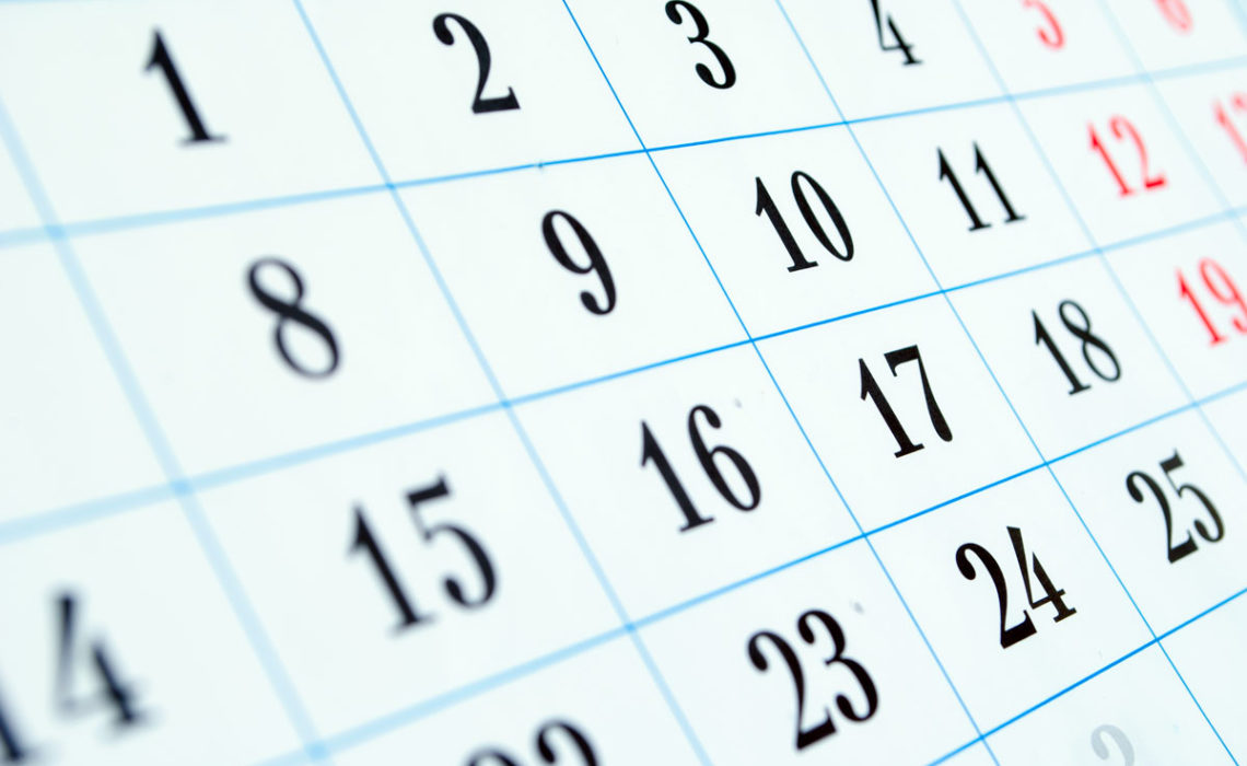 Charting Your Course:  Managing Calendars