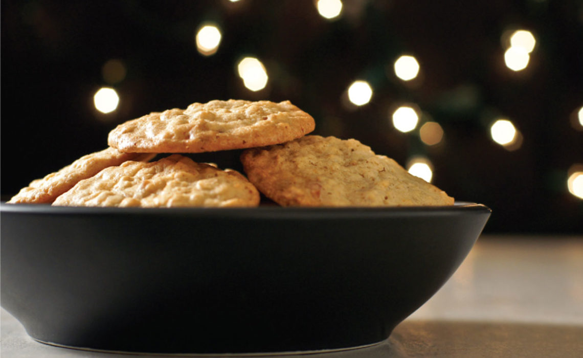 Cookie Week 2012 Day Five:  Maple Bacon Oatmeal Cookies
