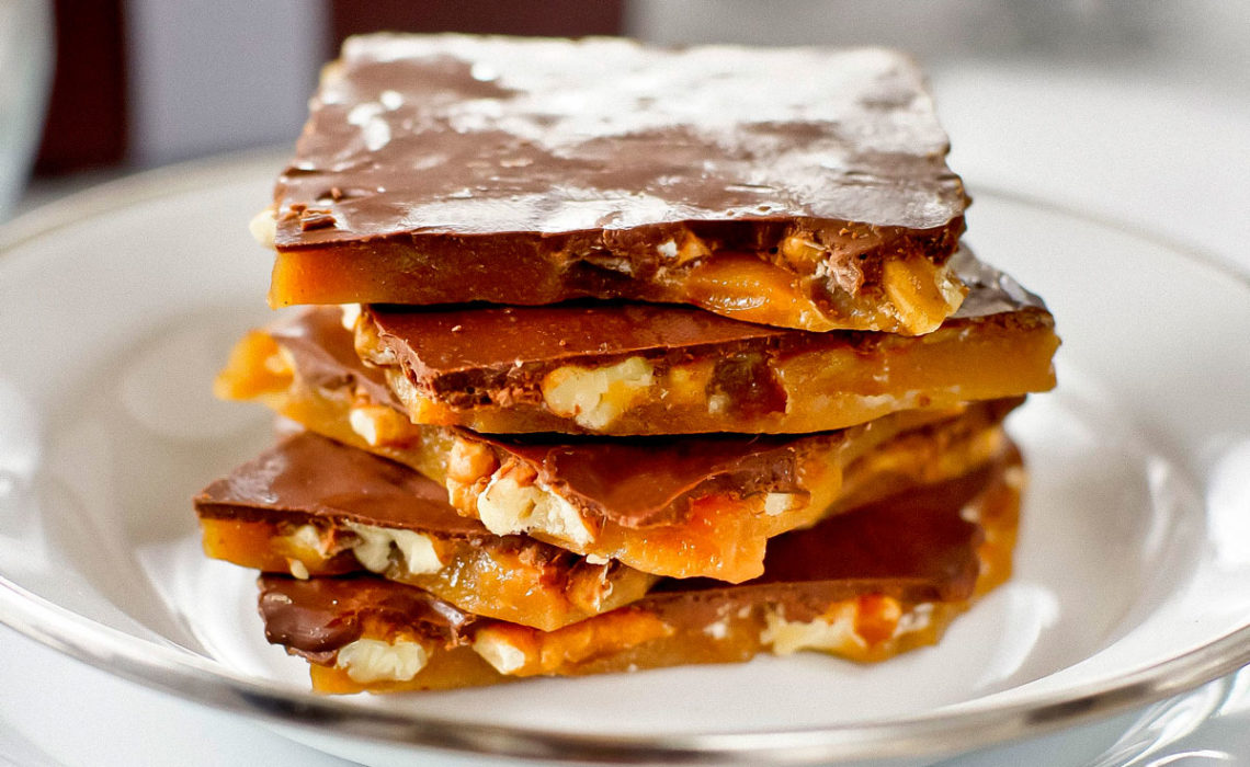 Treat of the Week:  Maple Nut Toffee