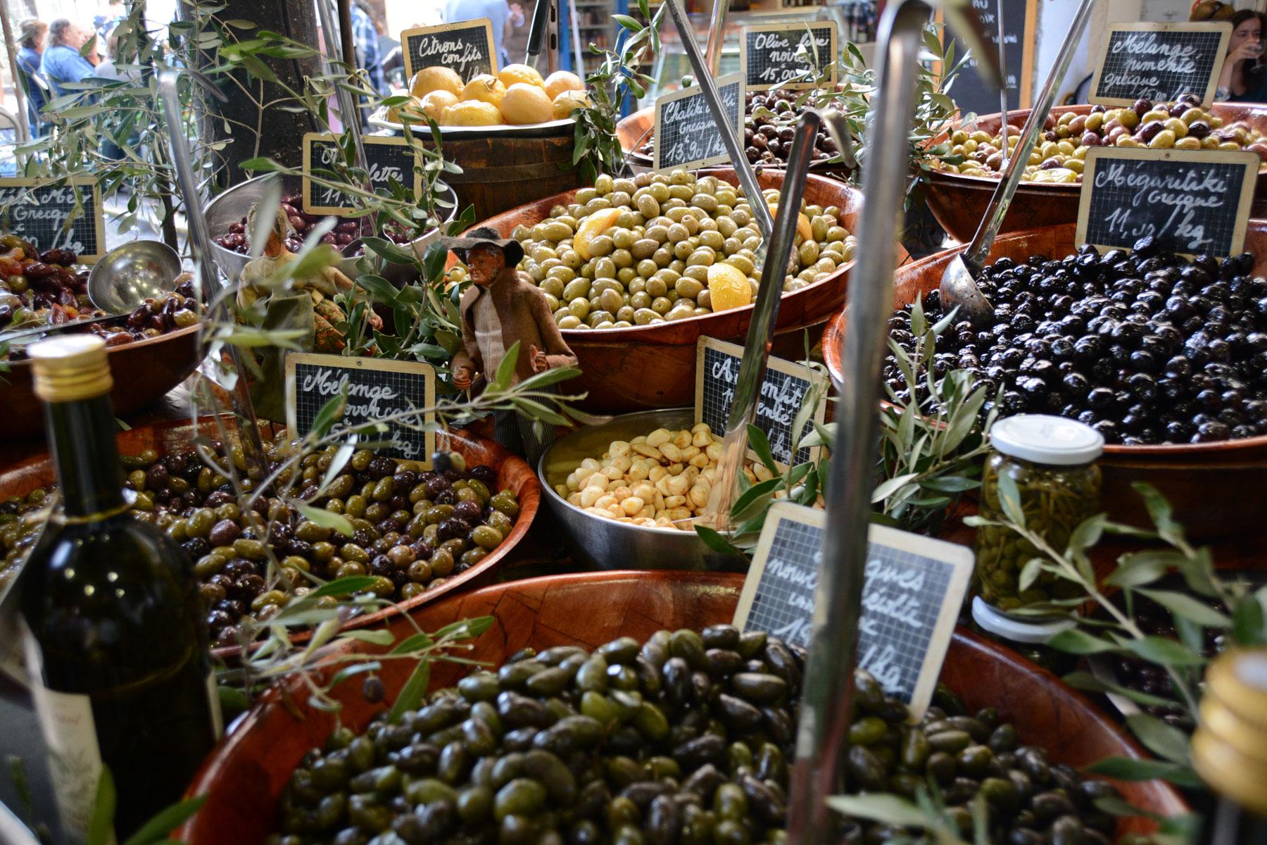 marché provençal - antibes france