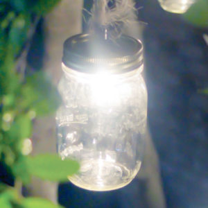 mason jar outdoor lights craft diy